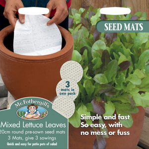 Mixed Lettuce Leaves Mat