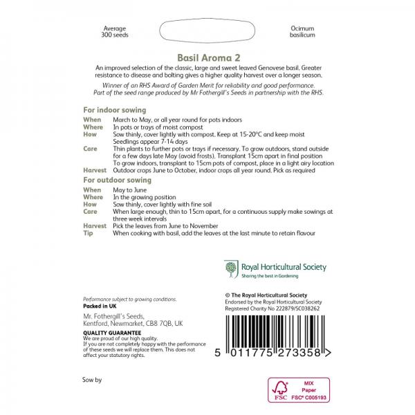 RHS Basil Aroma 2