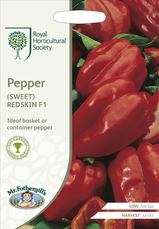 RHS Pepper (Sweet) Reds