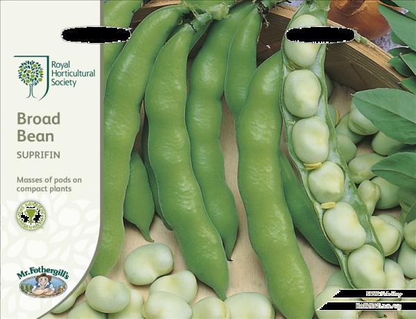 RHS Broad Bean Suprifin