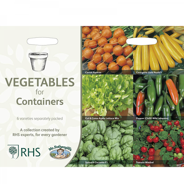 RHS Vegetables For Containers