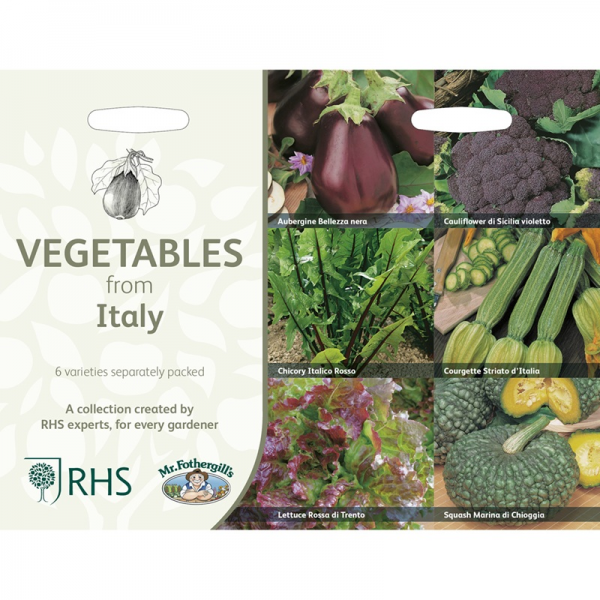 RHS Vegetables From Italy