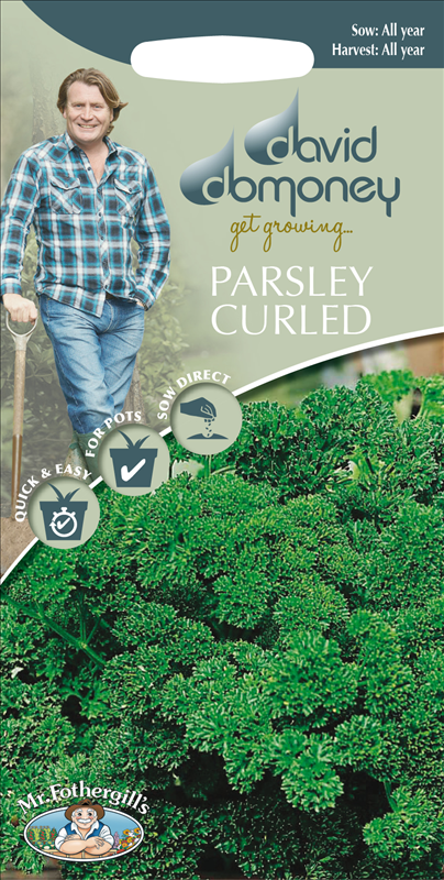 David Domoney Parsley Curled