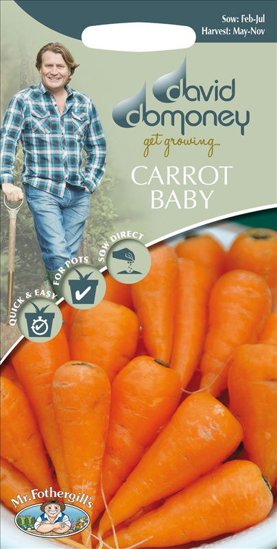 David Domoney Carrot Baby