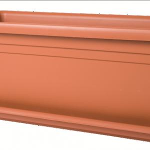 Deep Trough 80cm Terracotta