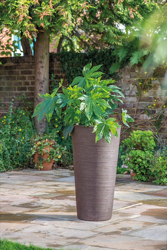 Varese Med Planter 35x55cm Dark Brown