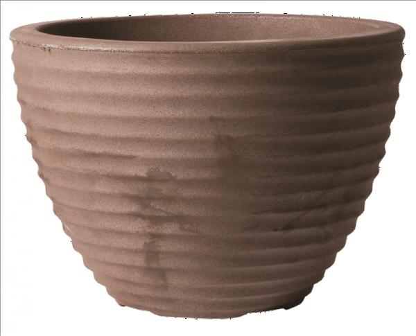 Low Honey Pot 50cm Dark Brown