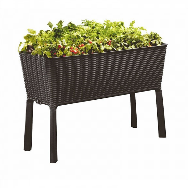 120L Easy Growing Planter 114x49x75cm Anthracite