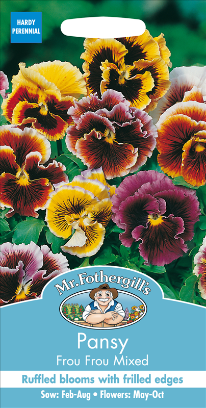 Pansy Frou Frou Mixed