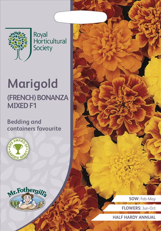 RHS Marigold (French) Bonanza Mixed F1
