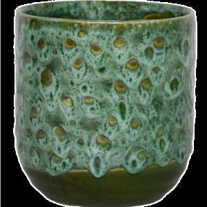 Emerald Glaze Planter 13cm