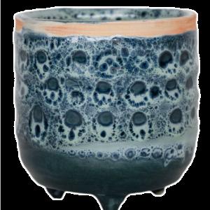 Sapphire Glaze Planter 7cm