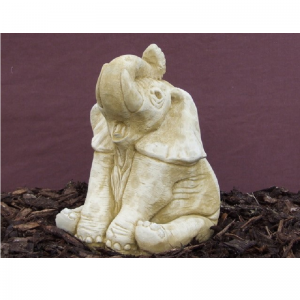 Elephant Up Garden Ornament