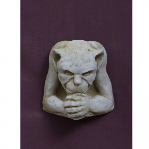 Small Gargoyle Plaque Garden Ornament
