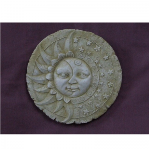 Sun & Moon Plaque Garden Ornament