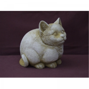 Fat cat Garden Ornament