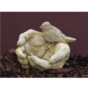 Bird Hands Garden Ornament