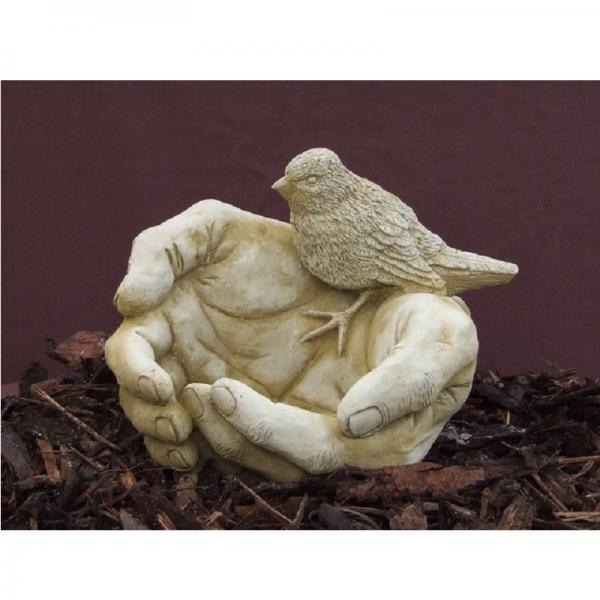 Bird Hands Garden Ornament
