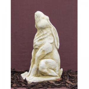 Star Gazing Hare Garden Ornament