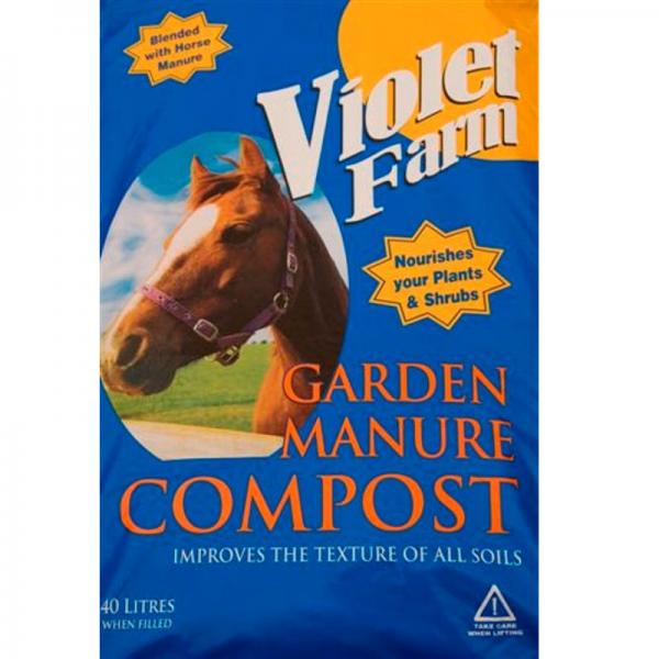 Violet Farm Garden Manure 40L