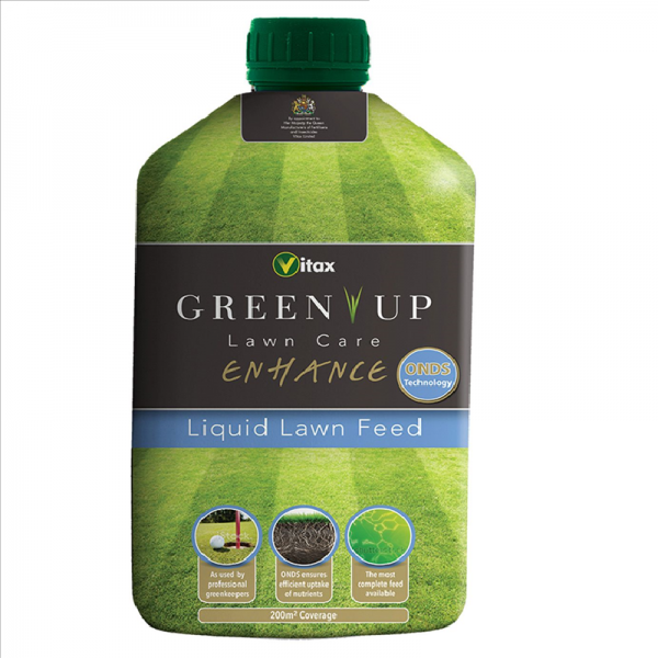 Green Up Lawn Enhance Liquid.  200sq.m