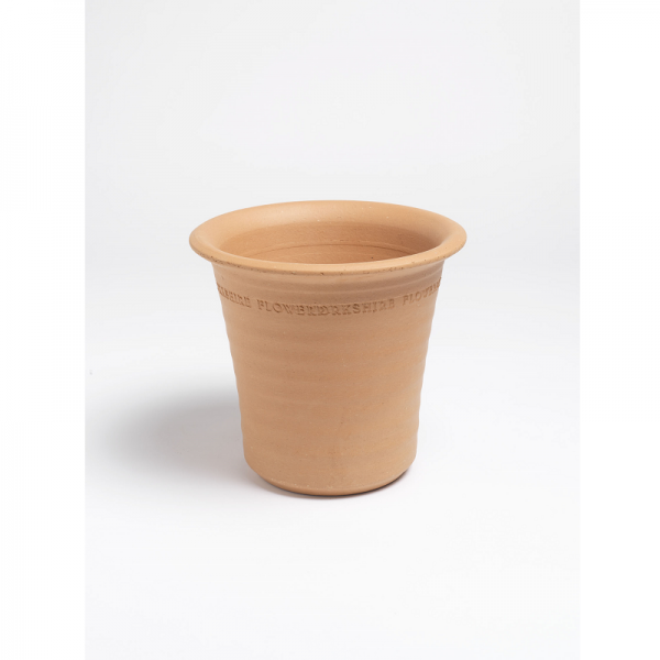 Small Ribbed Flowerpot