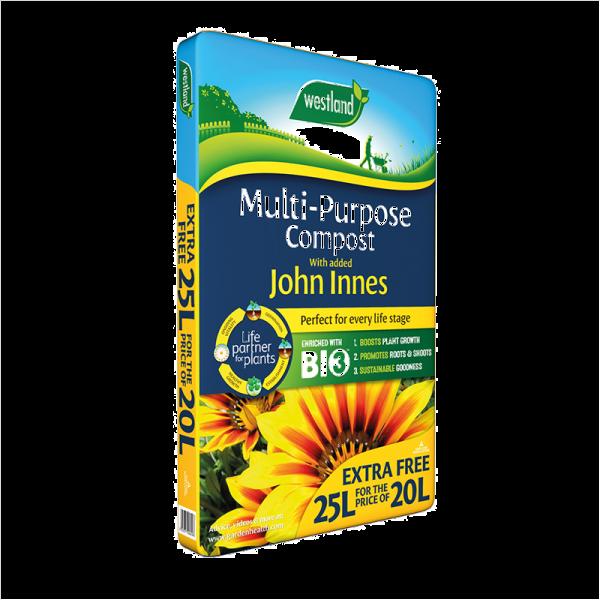 Multi Purpose Compost John Innes Bale 25L