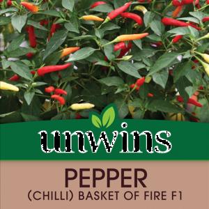 Pepper (Chilli) Basket of Fire F1