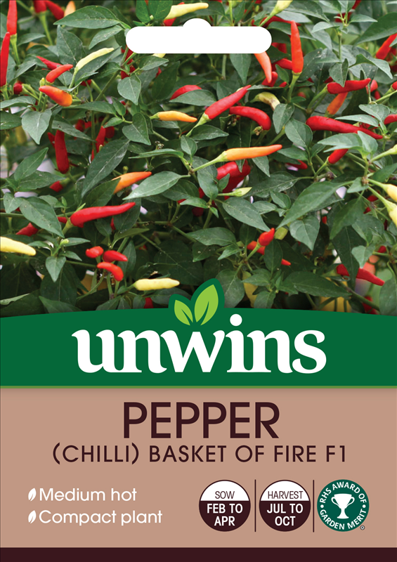 Pepper (Chilli) Basket of Fire F1