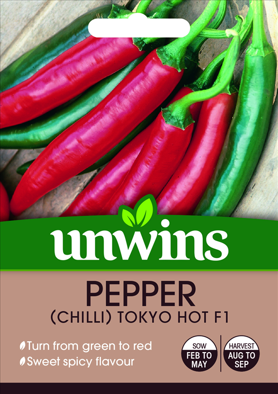 Pepper (Chilli) Tokyo Hot F1