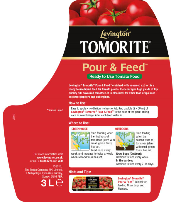 Tomorite Pour & Feed 2.5L+20%
