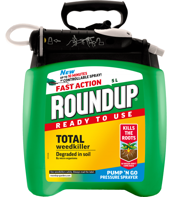 Roundup® Total Pump 'n Go 5L