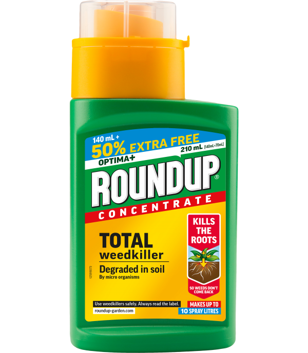 Roundup®  Concentrate 140ml +50%