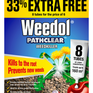 Weedol Pathclear Tubes x6 +2