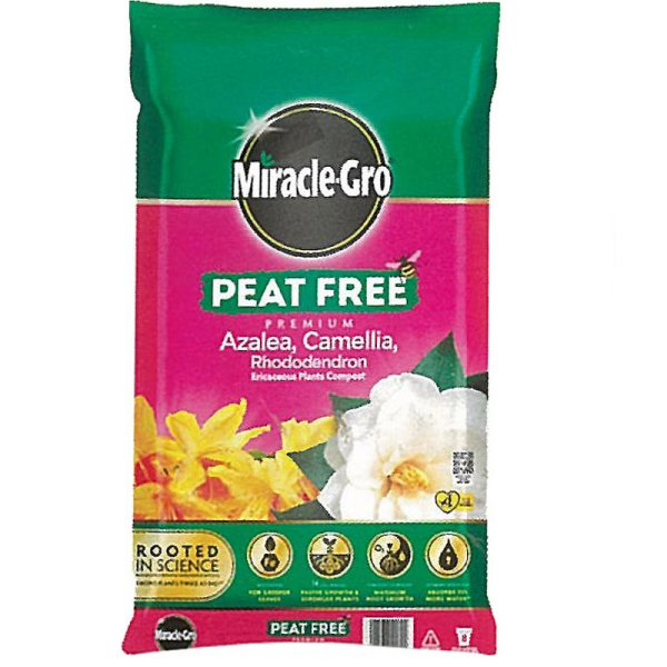 Miracle-Gro® Peat Free Azalea, Camellia Compost was £6.99 NOW £5