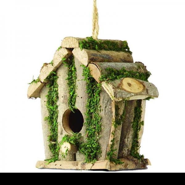 Square Log Hut