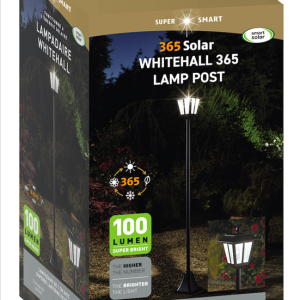Whitehall 365 Solar Lamp Post