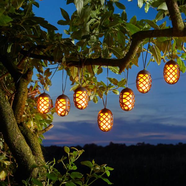 Cool Flame String Lights Set of 10