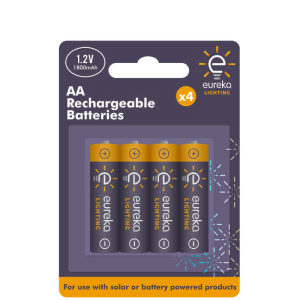 Recharge AA Batteries (4 pack)