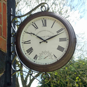 Greenwich Clock & Thermometer
