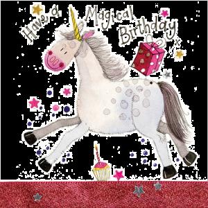Birthday Unicorn Card