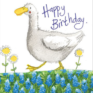 Duck and Daises Card