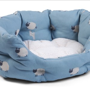 Counting Sheep Oval Bed - Medium