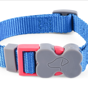 WalkAbout Blue Dog Collar - Medium