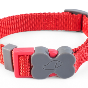 WalkAbout Red Dog Collar - Extra Small
