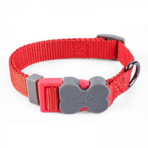 WalkAbout Red Dog Collar - Medium