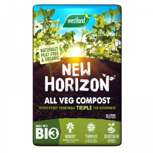 New Horizon all Vegetable Compost. Naturally peat free & organic, A perfect blend Biofibre, W