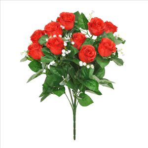 Red Rosebud Bouquet