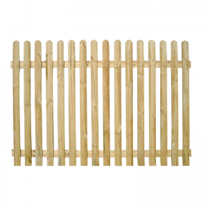 Rounded Top Picket Pale Fencing 60cm