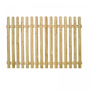 Rounded Top Picket Pale Fencing 90cm